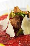Carne Carpaccio Fotos de Stock Royalty Free