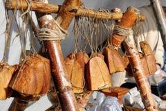 carne Casa-feita no mercado fotografia de stock