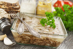 Carne casalinga della gelatina Fotografia Stock Libera da Diritti