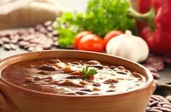 carne chili przeciw Fotografia Stock