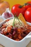 carne chili przeciw smakowity Obraz Royalty Free