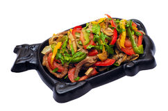Carne chinesa fotos de stock