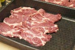 Carne cocinada en el horno Foto de archivo