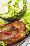Carne com vegetais Fotos de Stock