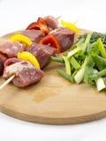 Carne con las verduras Foto de archivo
