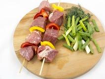 Carne con le verdure fotografie stock libere da diritti