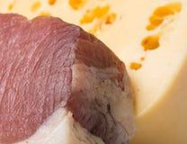Carne con queso Fotografía de archivo libre de regalías