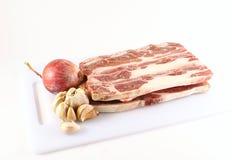 Carne congelada Foto de archivo libre de regalías