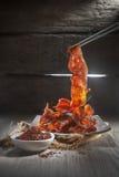 Carne coreana do BBQ Imagens de Stock Royalty Free
