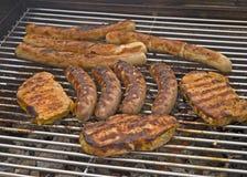 Carne cotta fotografia stock