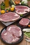 Carne crua Imagens de Stock