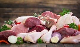Carne crua fotografia de stock