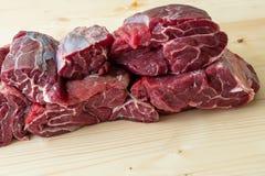 Carne crua do breef Imagem de Stock