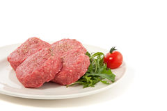 carne crua do tártaro Foto de Stock Royalty Free