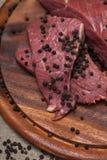 Carne crua fresca Imagem de Stock Royalty Free