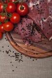Carne crua fresca Imagens de Stock