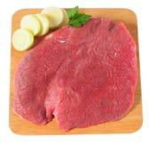 Carne crua. Isolado Imagem de Stock Royalty Free