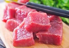 Carne cruda Fotografia Stock Libera da Diritti