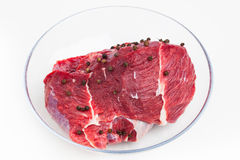 Carne cruda fresca Foto de archivo