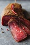 Carne curada Foto de Stock