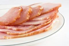Carne curata Immagini Stock