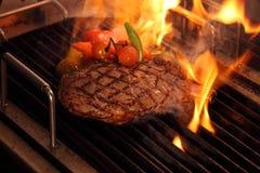 Carne da grade Fotografia de Stock Royalty Free