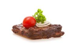 Carne da grade Imagens de Stock Royalty Free