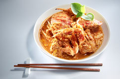 Carne de caranguejo fotografia de stock