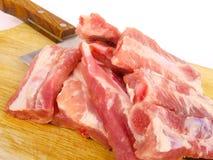 Carne de carne de porco Imagens de Stock