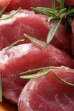Carne de carne de porco crua Fotografia de Stock