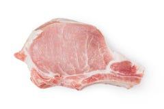 Carne de carne de porco crua Fotografia de Stock Royalty Free