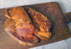 Carne de carne de porco crua Imagens de Stock Royalty Free