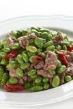 Carne de carne de porco desbastada Imagem de Stock
