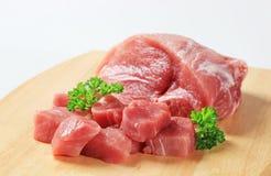 Carne de carne de porco fresca Imagens de Stock