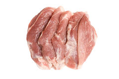 Carne de carne de porco fresca Imagens de Stock Royalty Free