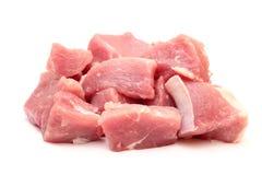Carne de carne de porco fresca fotografia de stock