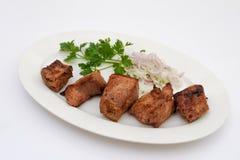 Carne de carne de porco grelhada foto de stock
