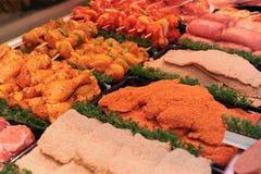 Carne de carniceiro foto de stock royalty free