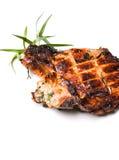 Carne de cerdo asada a la parilla Fotos de archivo