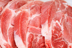 Carne de cerdo sin procesar Foto de archivo