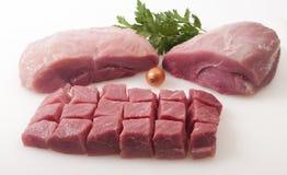 Carne de cerdo sin procesar   imagen de archivo libre de regalías