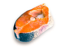 Carne de color salmón imagen de archivo