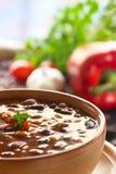 Carne de engodo de pimentões Fotos de Stock