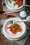 Carne de engodo de pimentões Imagem de Stock