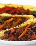 Carne de estafa de chiles Fotografía de archivo libre de regalías