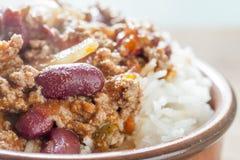 Carne de estafa de chiles Fotos de archivo