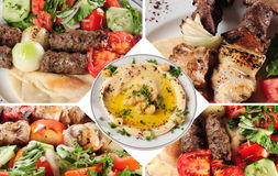 Comida árabe. Imagen de archivo