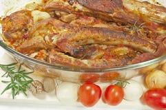 Carne de la carne asada Fotografía de archivo