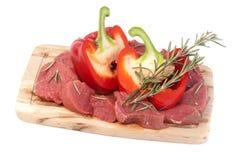 Carne de la carne de vaca Imágenes de archivo libres de regalías