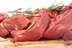 Carne de la carne de vaca fotos de archivo